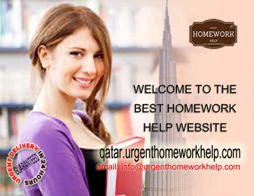 best homework writing service in Qatar & middle-east